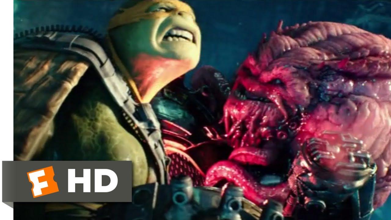 Teenage Mutant Ninja Turtles 2 2016 Fighting Krang Scene 10 10 Movieclips Youtube
