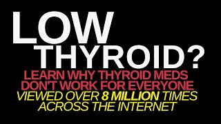 High TSH? Hashimoto's or Hypothyroid? No Weight Loss? Learn Why Thyroid Meds Don't Work For Everyone