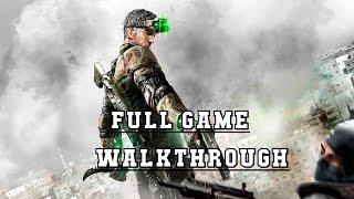 SC : Blacklist - Full Game 100% Ghost Walkthrough - No Commentary