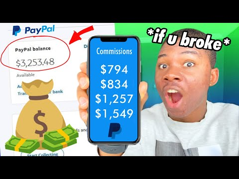Earn $3,000 FAST If Your BROKE! (Free Paypal Money 2021)
