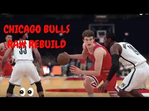 REBUILDING THE CHICAGO BULLS! | OMG LAURI MARKKANEN | NBA 2K18 Realistic Rebuild #1