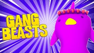 PLAYING GANG BEASTS FOR THE FIRST TIME! | Little Kelly