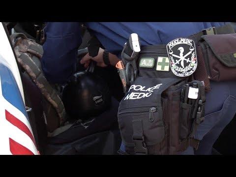 Szerbiába és Macedóniába indult magyar rendőri kontingens
