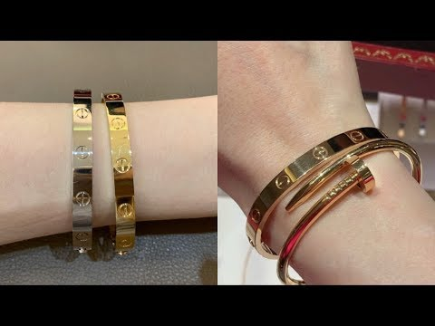 Cartier luxury shopping vlog | buying my first Cartier love bracelet