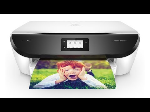 HP ENVY Photo 6232 All-in-One Printer Unboxing