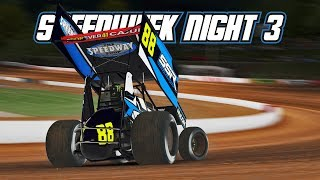 iRacing: Speedweek - Night 3 (410 Sprintcars @ Lanier)