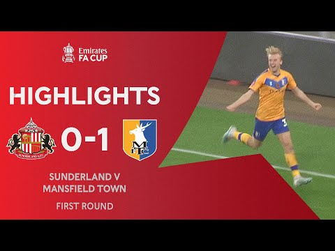 Sunderland Mansfield Goals And Highlights