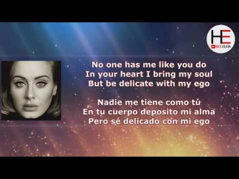 Adele I Miss You   Lyrics English   Español