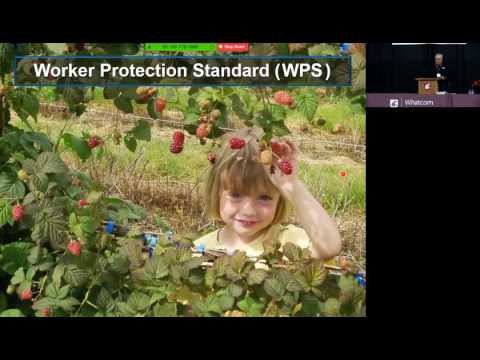 """The Worker Protection Standard . . . Gearing up for 2017 and Beyond"" - Tom Hoffman"