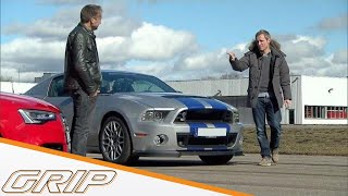 Mustang Shelby GT 500 | Hat Hollywood gelogen oder nicht? | GRIP