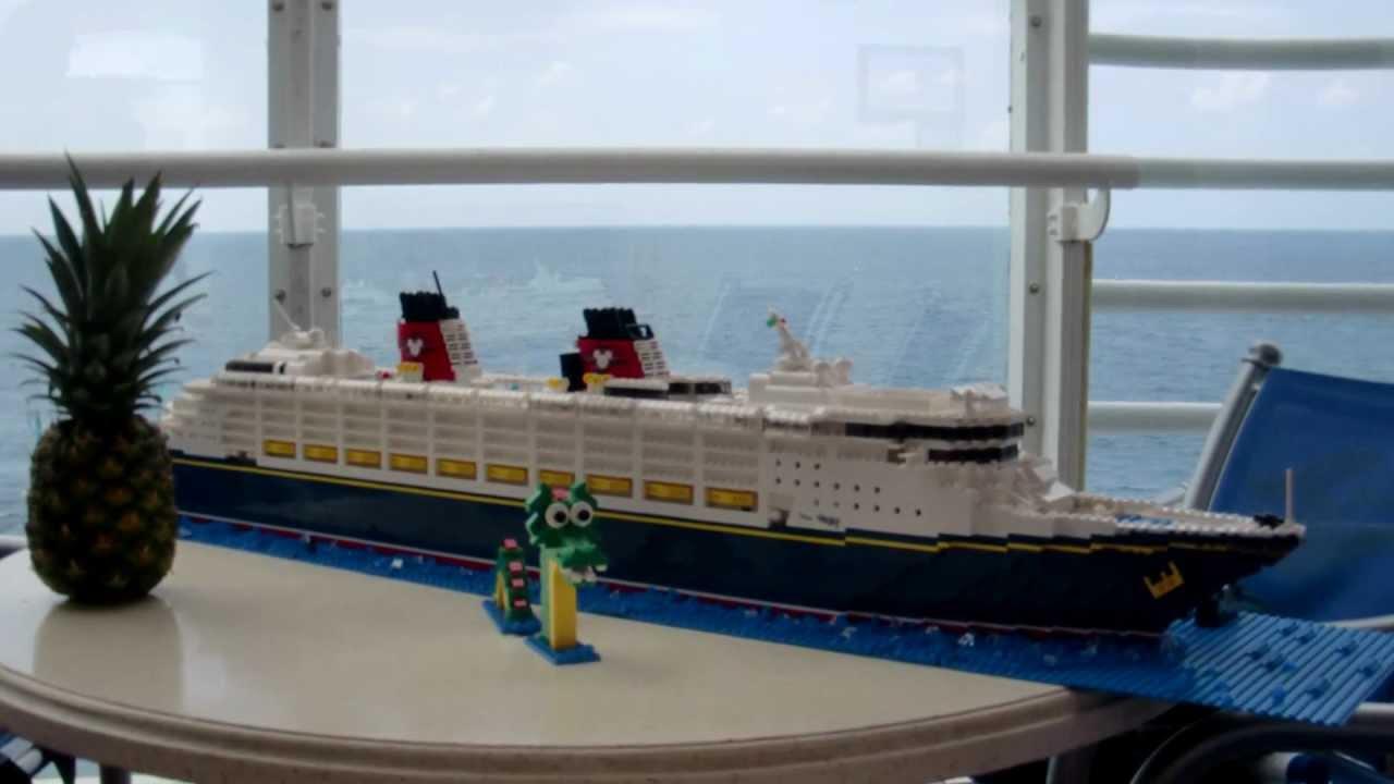 Lego Disney Wonder Cruise Ship Youtube