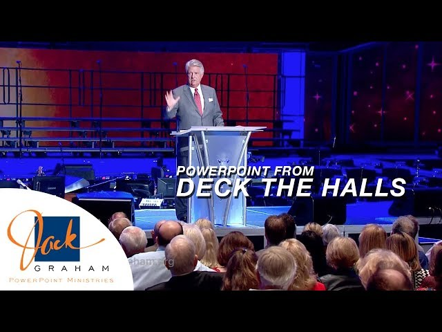 PowerPoint from: Deck the Halls | PowerPoint with Dr. Jack Graham