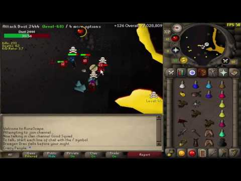 99 Mining/Failed clip and loot from 89-99mining