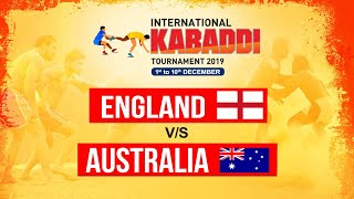 ENGLAND Vs AUSTRALIA | INTERNATIONAL KABADDI TOURNAMENT 2019 | POOL A | MATCH 4 | PTC PUNJABI GOLD