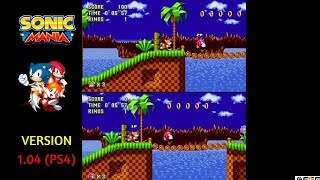 A lot of fans didn't like the wider split-screen in Sonic Mania for...