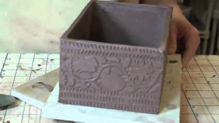 Bridges Pottery Slab Construction Demo