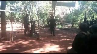 Guerra na selva. Armadilhas.