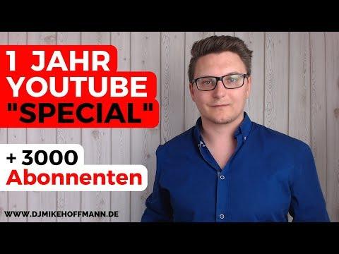 1 Jahr YouTube 🎥 + 3000 Abonennten Special | Einblicke, Rückblicke & Vorschauen | DJ Mike Hoffmann