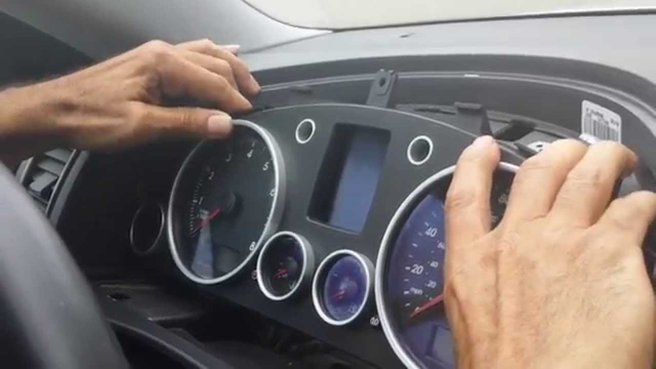 How to Remove Speedometer Cluster from 2005 VW Touareg for Repair