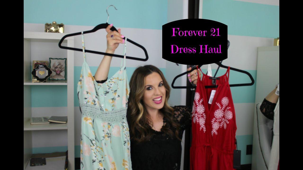 Forever 21 Maxi Dress Haul Youtube