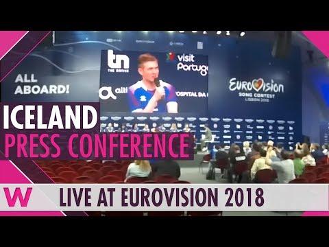 "Greece Second Press Conference: Yianna Terzi, ""Oniro Mou"" @ Eurovision 2018 | wiwibloggs"