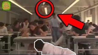 Copian en un Examen en Japon y mira lo que hace el Profesor