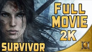 Rise of The Tomb Raider (PC) - Full Movie - Gameplay Walkthrough (Survivor Difficulty) - 1/2