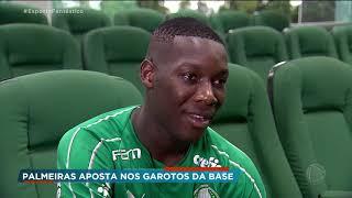 Palmeiras aposta em garotos da base para grandes conquistas em 2020