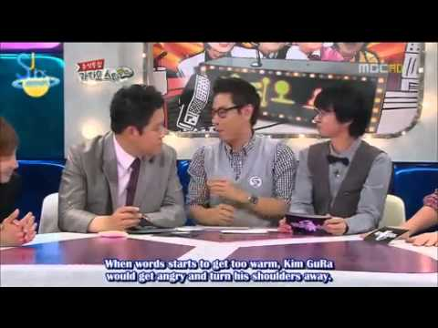 ENG SUB -  Super Junior talk about Kangin and Hankyung