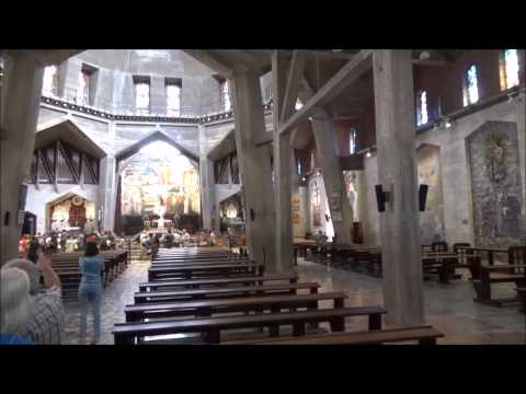 Church Of The Annunciation, Nazareth (Narrated - Part 1 Of 2)
