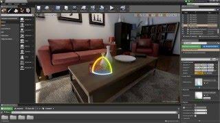 Masterclass de Arquitectura Interactiva con Unreal Engine 4 - UA School (Parte 1)