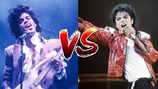 Michael Jackson's 'Thriller' vs Prince's 'Purple Rain'