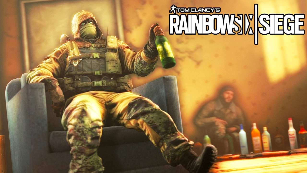 Rainbow Six Siege   Random Moments #21 (Humorous Explosions, Having A Sit Down!)