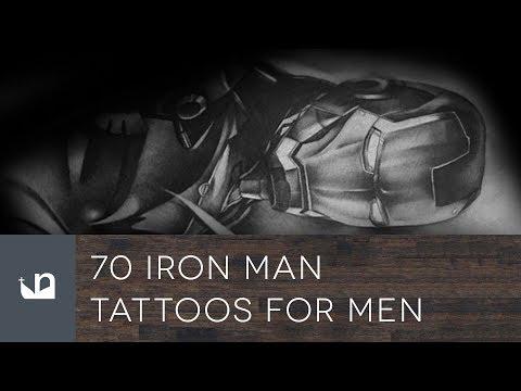 70 Iron Man Tattoos For Men