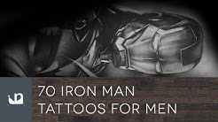 70 Iron Man Tattoos For Men