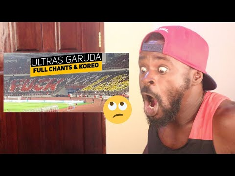 Reaction :Full Chants Dan Koreo Ultras Garuda Vs Ultras Malaysia