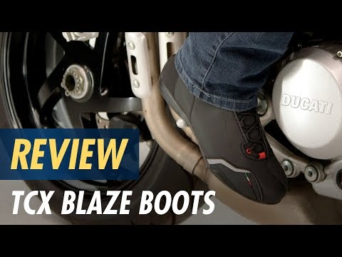 56ecd44c664 TCX Blaze Boots Review at CycleGear.com - YouTube