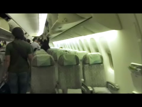 EVA Air 35 FULL FLIGHT 777-300ER Economy Class YYZ-TPE