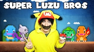 POKEMON EN MARIO MAKER! - [LuzuGames]
