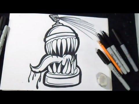 wie zeichnet man spr hdose intro z xx graffiti welt youtube