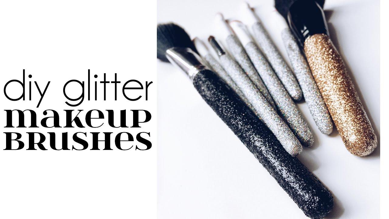 Glitter Makeup Brushes | Saubhaya Makeup