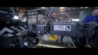 Repeat youtube video Mitau Steel – Stahl Crane Systems partneris Latvijā
