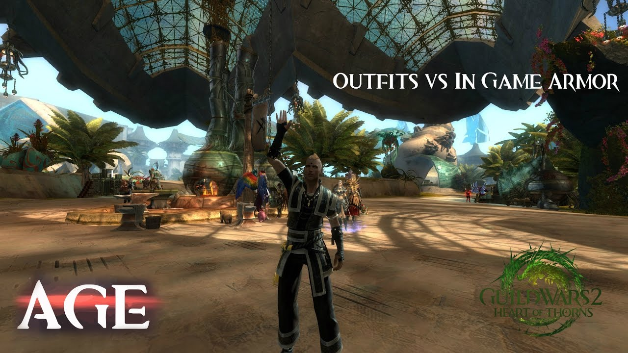 Guild Wars 2 | Outfits vs In Game Armor