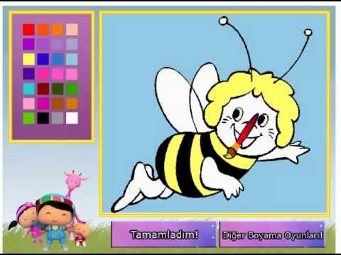 Komik Arı Maya Boyama
