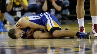 Stephen Curry Suffers HORRIBLE Ankle Injury Vs New Orleans Pelicans!