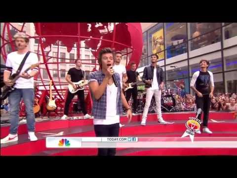 One Direction  Best Song Ever  Today Show Performance August 2013