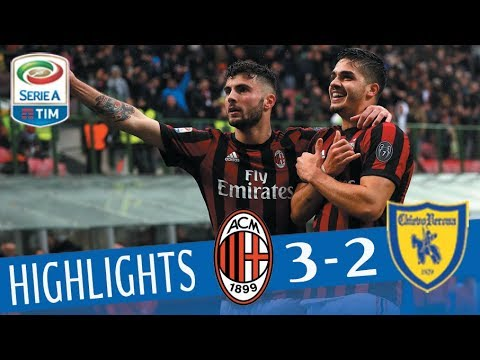 Milan - Chievo 3-2 - Highlights - Giornata 29 - Serie A TIM 2017/18