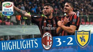Milan - Chievo 3-2 - Highlights - Giornata 29 - Serie A TIM 2017/18