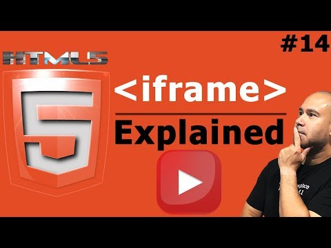 How To Embed YouTube Videos With Iframe Tag In HTML - Tutorial For Beginners