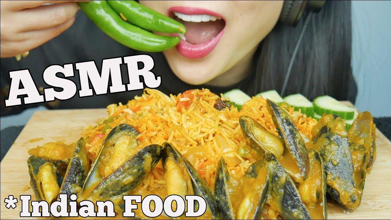 Asmr Vegetable Biryani Curried Mussels Indian Food Eating Sounds No Talking Sas Asmr Youtube • 3,3 млн просмотров 1 год назад. asmr vegetable biryani curried mussels indian food eating sounds no talking sas asmr